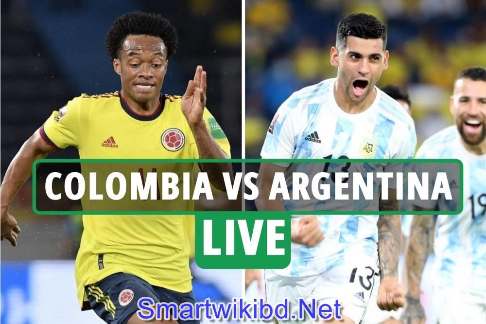 Argentina VS Colombia Copa America Semifinal 2021 Live Match Watch Live Score & Live Telecast