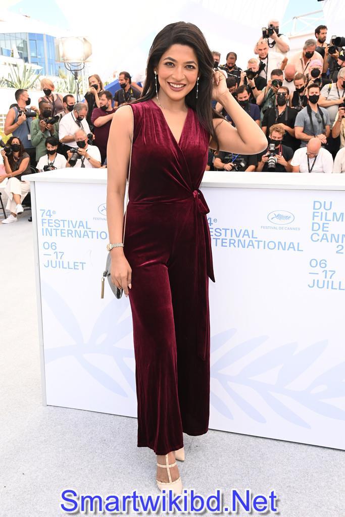 Azmeri Haque Badhon attends the Cannes Film Festival 2021 Photos