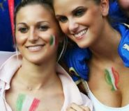 Italian's Sexy And Hot Fans Photos In Brazil World Cup 2014