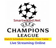 UEFA Champions League 2021 Match Schedule Fixtures | Watch Live Streaming