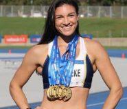 Athlete Michelle Jenneke Biography Wiki Bra Size Hot Photos