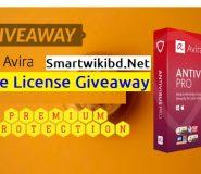 Download Avira Antivirus Pro Free License Giveaway 2021-2022
