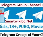 Top Active Telegram Group Channel Links List 2021-2022