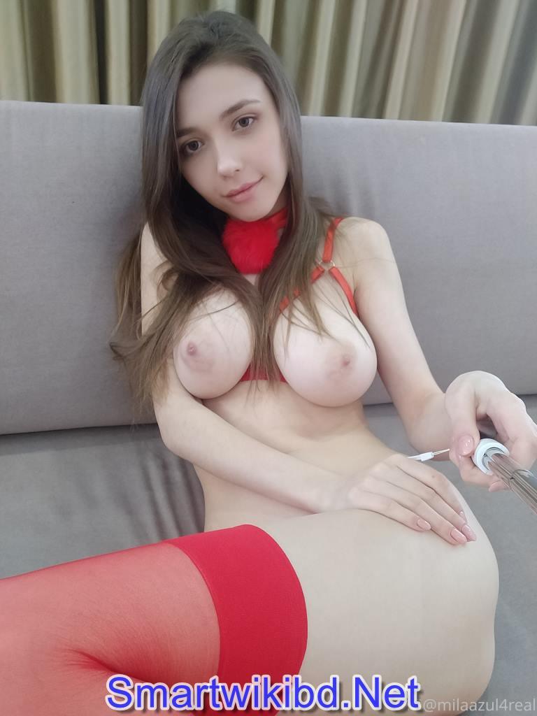 OnlyFans Ukrainian Sex Pornstar Mila Azul Nude Photos Leaked 2021